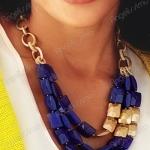 Модный тренд – массивные ожерелья